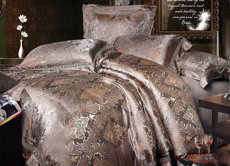 постельное белье жаккард фото